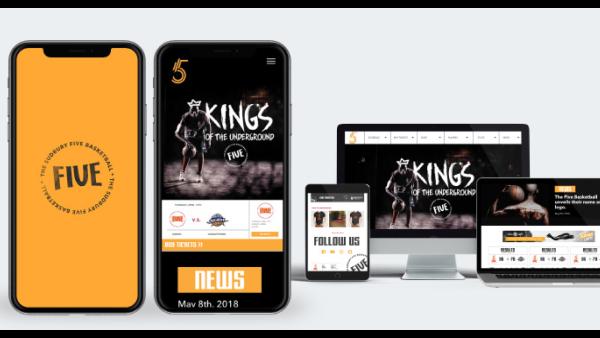 The Sudbury Five - Branding, web development, strategy