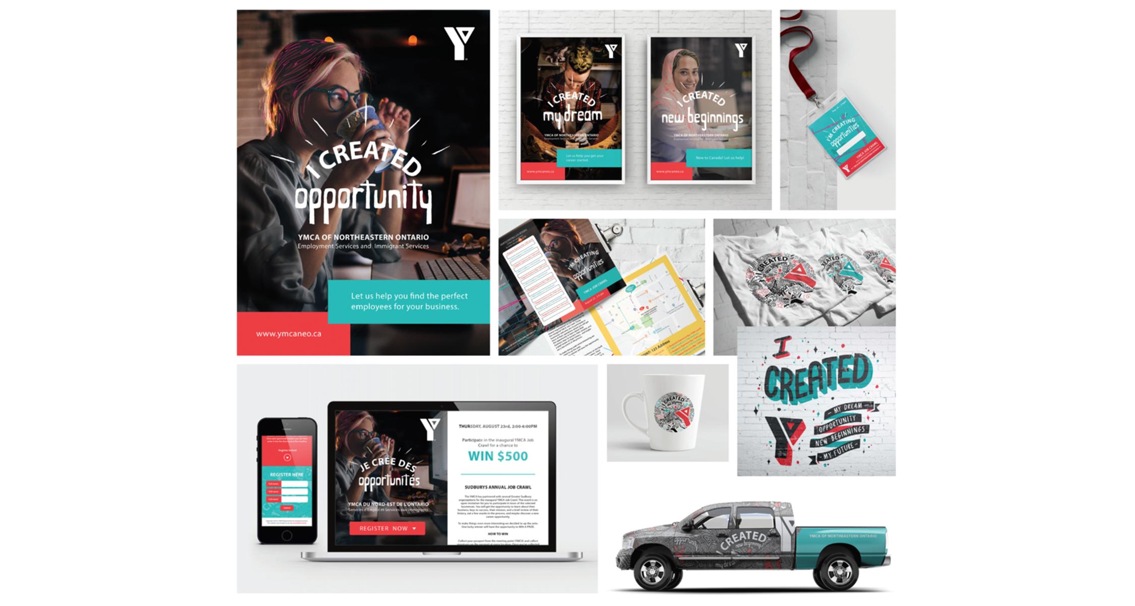 YMCA - Campaign, Events, Print Assets, Digital Assets