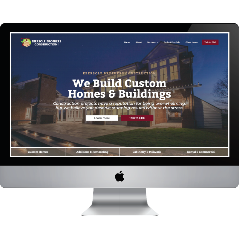 StoryBrand Website Design Example