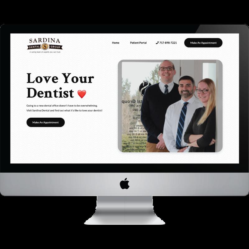 StoryBrand Website Design Example