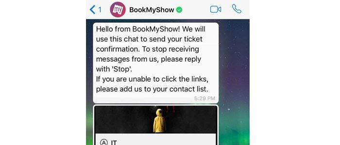 bookmyshow-whatapp-message