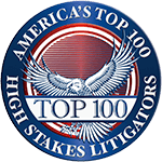 Castellani Law Top 100 High Stake Litigators Award