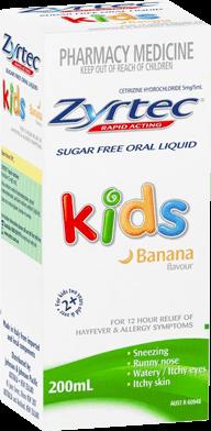 Zyrtec Sugar-Free Oral Liquid For Kids