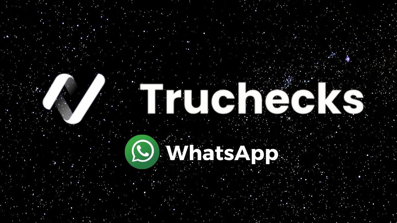 Â¡Ahora puedes usar Truchecks desde tu WhatsApp! es gratis