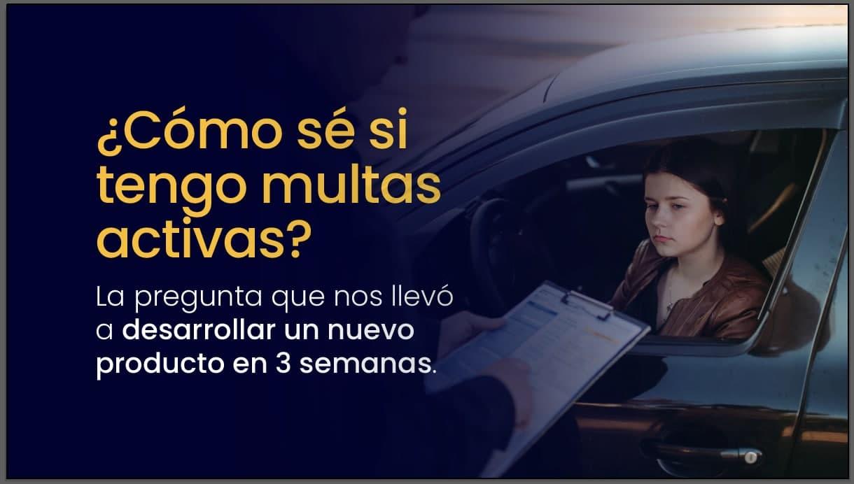 Lanzamos Tus Comparendos, la plataforma para verificar el estado de multas de tránsito y SOAT