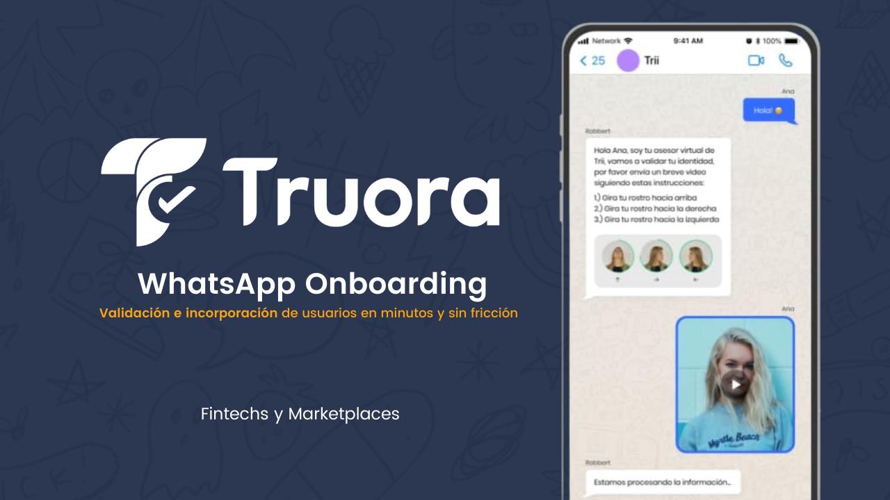 Valida y registra usuarios en minutos con WhatsApp Onboarding 👇