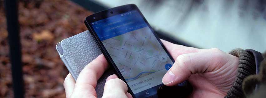 gebruik van mobile telefoon buiten
