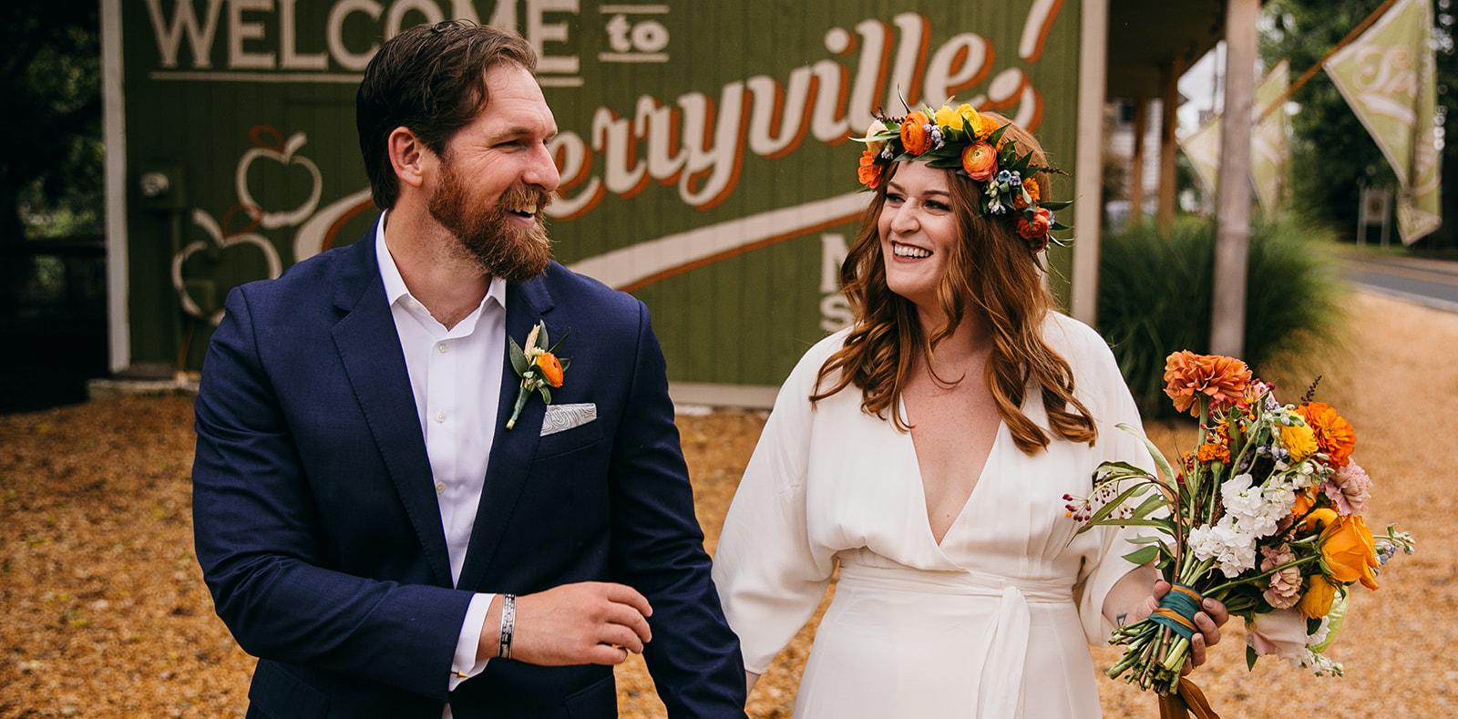 Micro Wedding: Stephanie + Zach