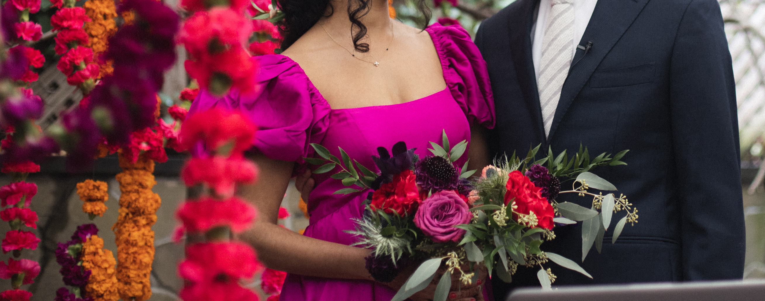 Micro-Wedding: Anuja + Rob
