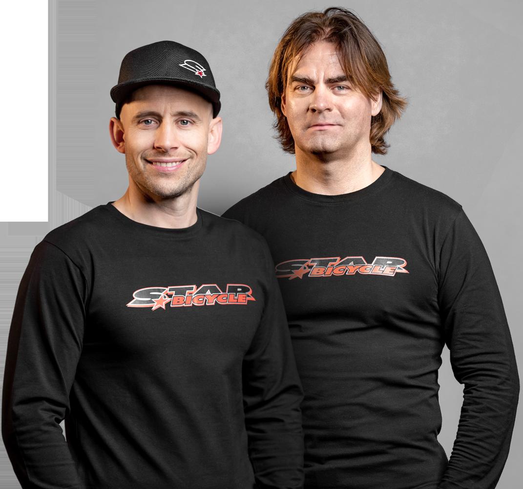 die Berater von Star Bicycle Peter und Oliver