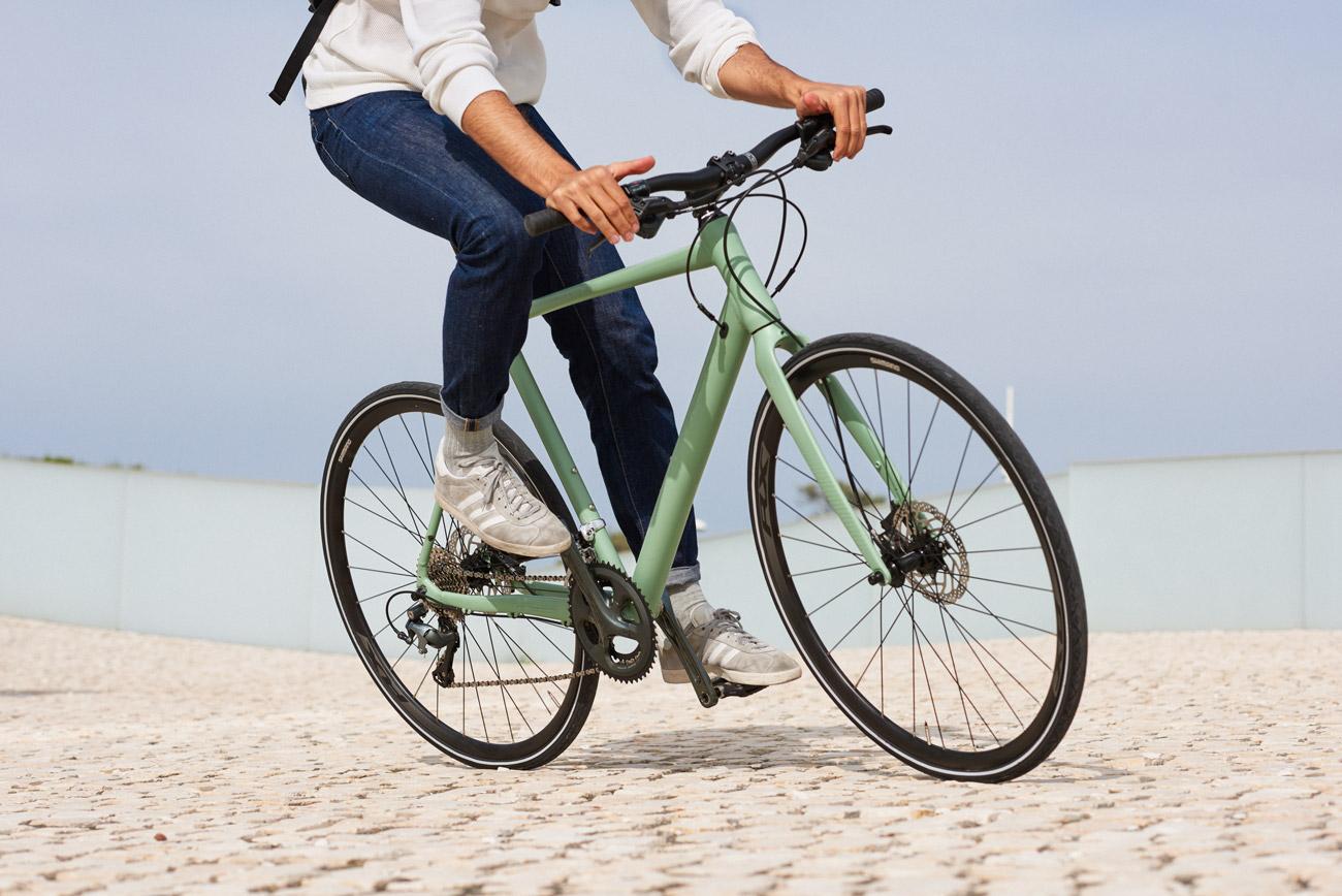 Erlebe das perfekte Bike in seiner natürlichen Umgebung