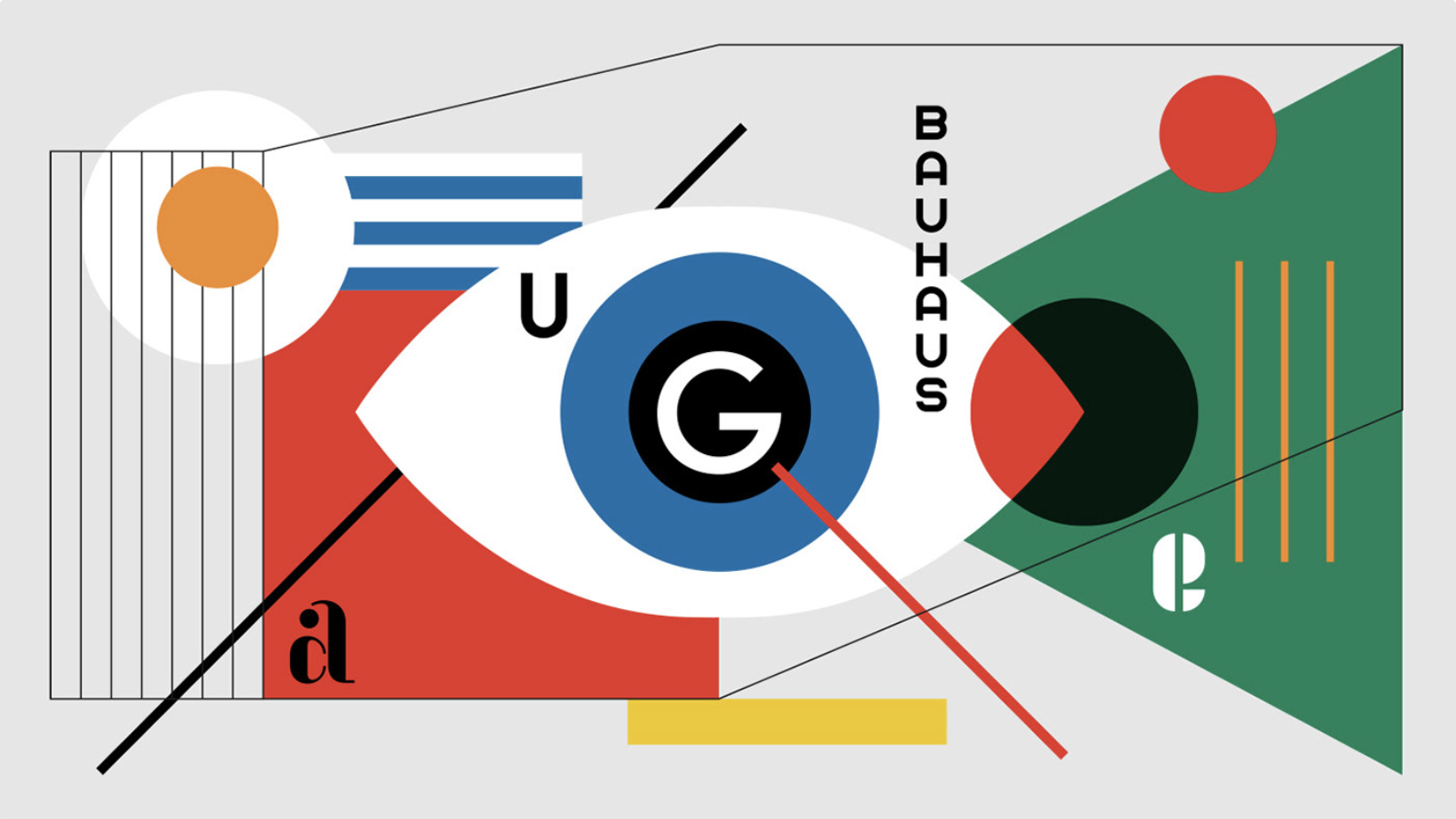 bauhaus meets web design