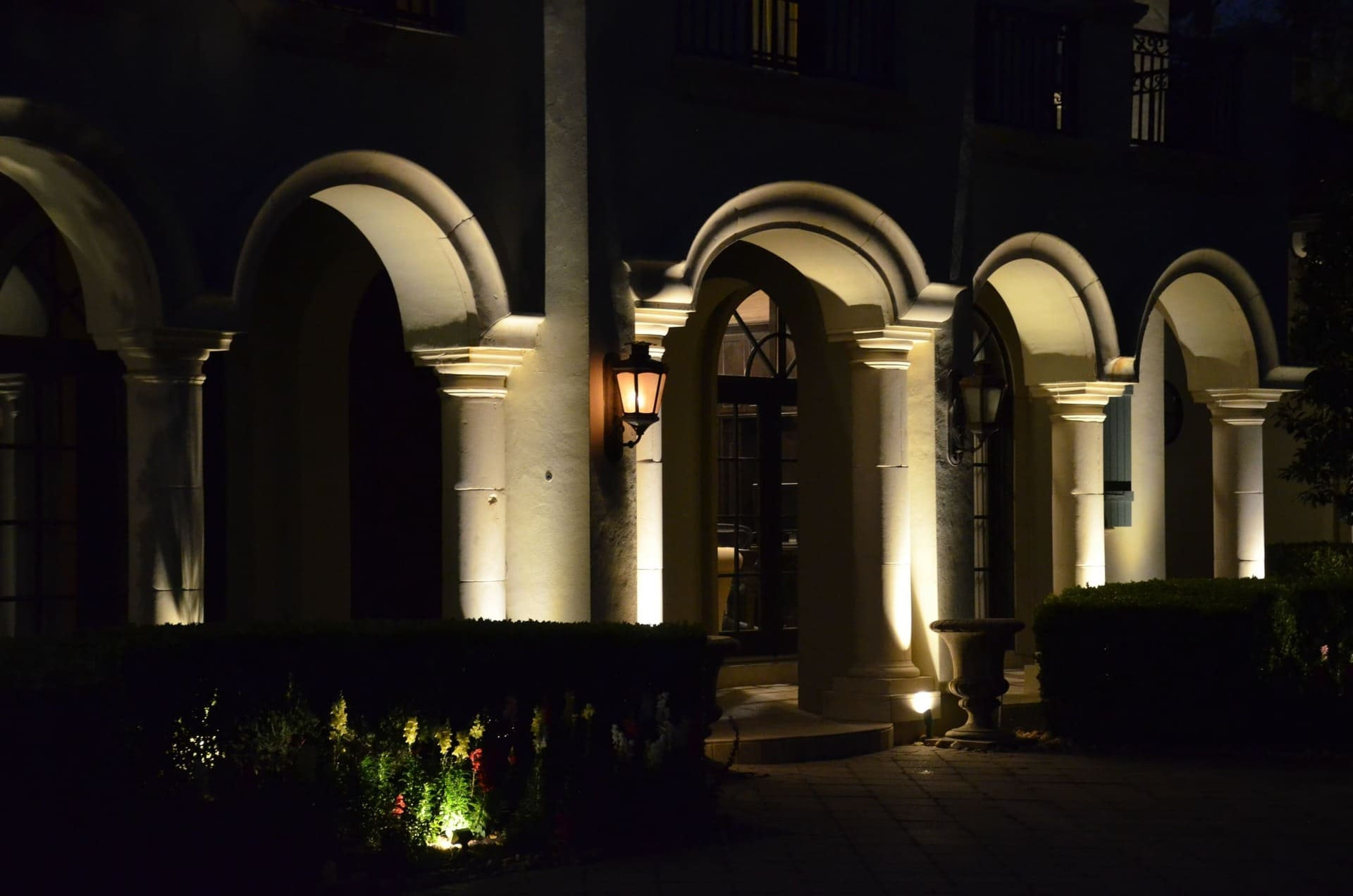 House Landscape Lighting Company The Woodlands Texas