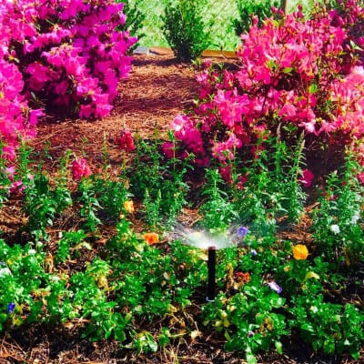 Flowers Sprinkler Company The Woodlands Texas