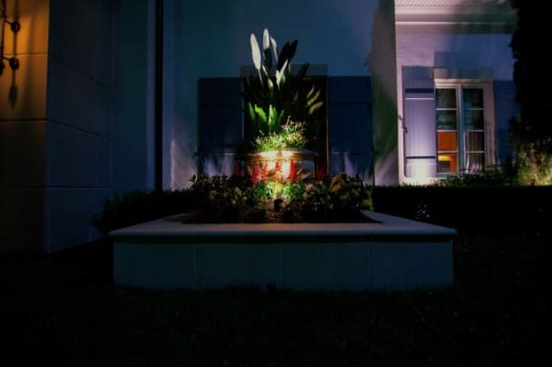 Plant Landscape Lighting Company Woodforest Texas