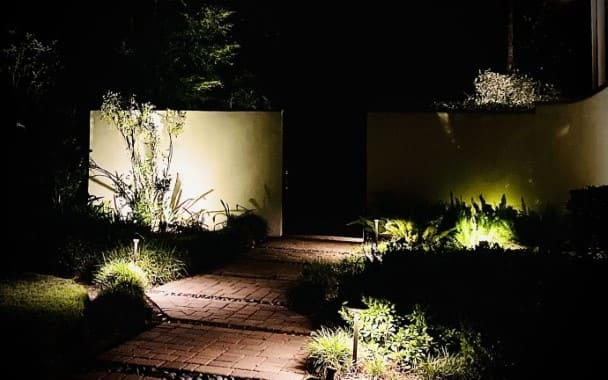 Fence Landscape Lighting Company The Woodlands Texas