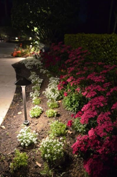 Flowers Landscape Lighting Company The Woodlands Texas