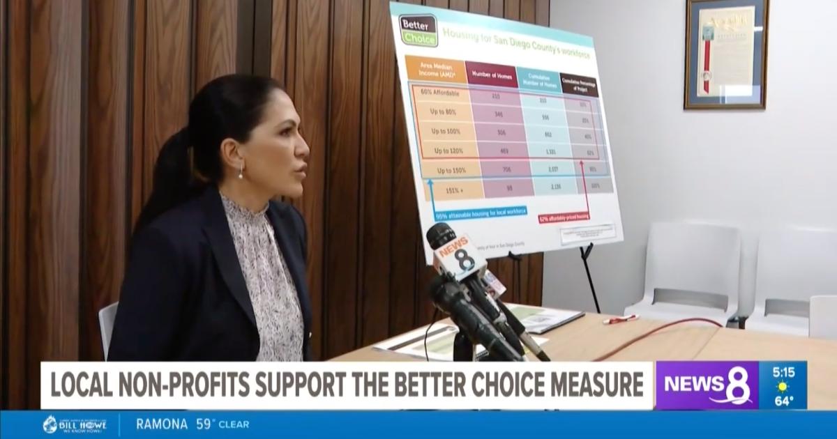 3 Local Nonprofits Endorse Better Choice Measure