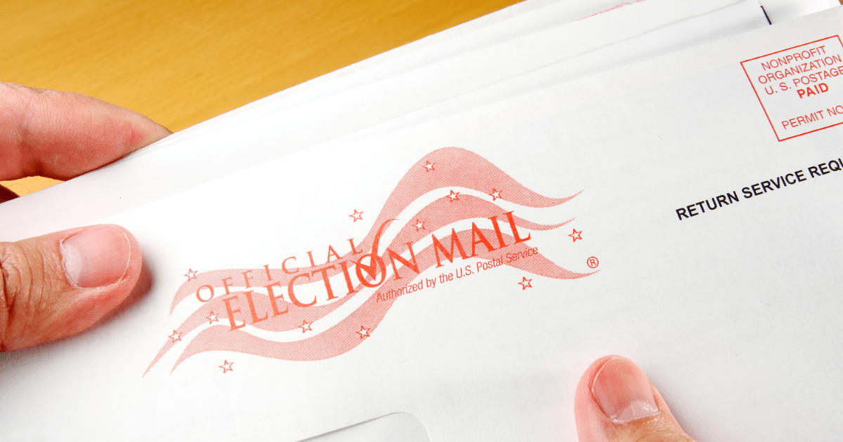 Deadline to Apply for a Mail Ballot is TODAY!