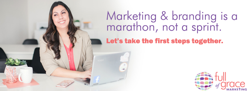 Work with Sarah Douglas of Full of Grace Marketing for your social media