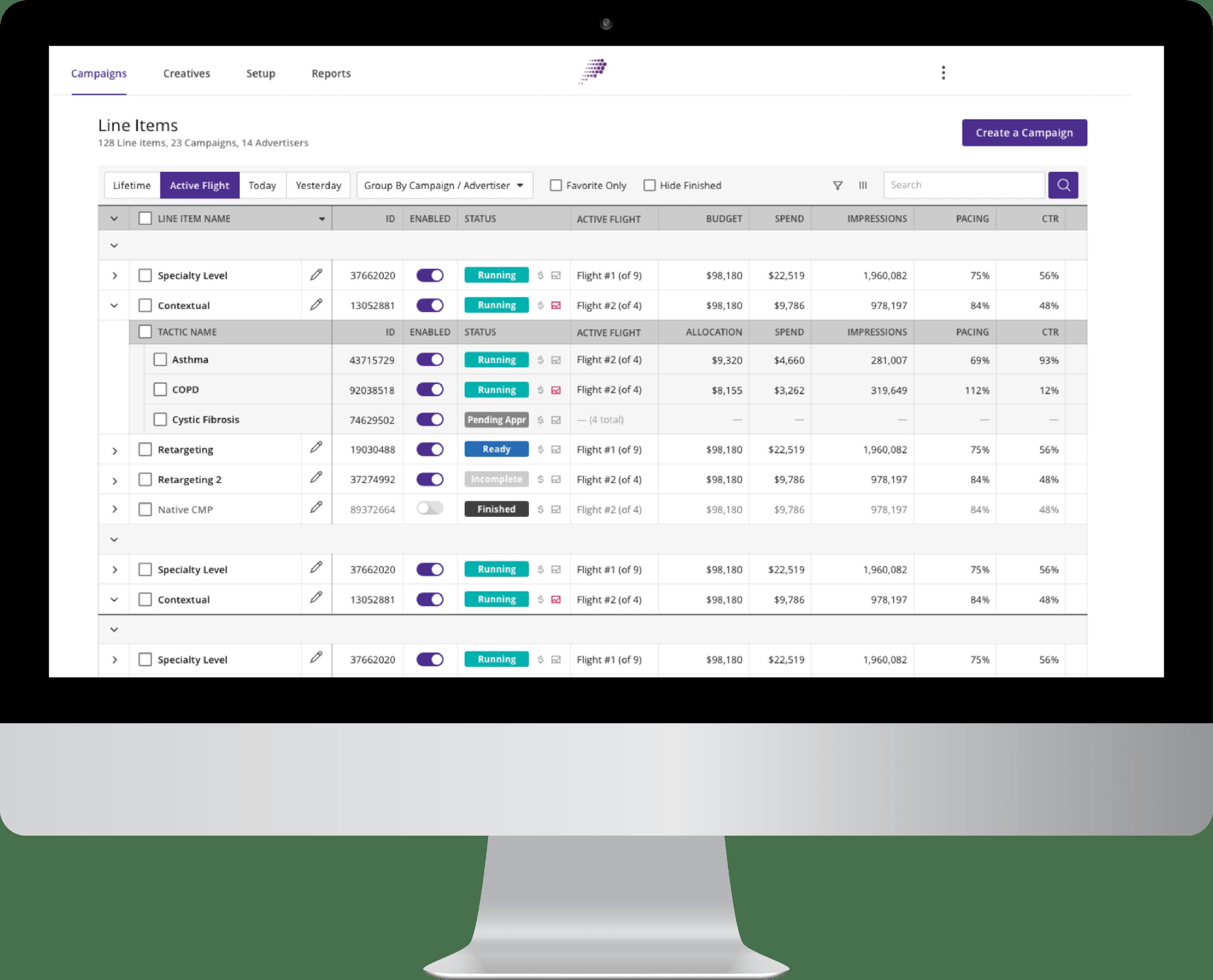 Screenshot of the Life Platform