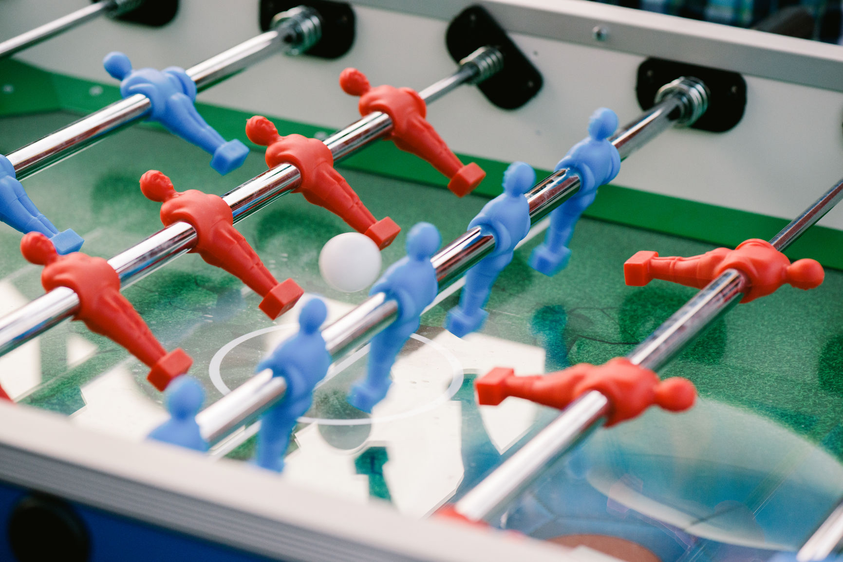 close-up-foosball-table