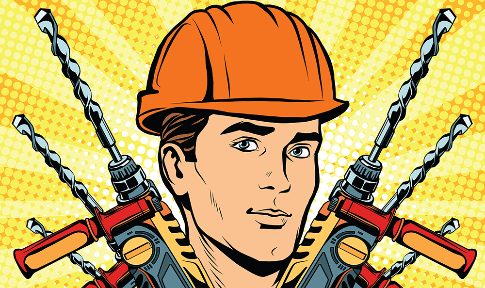 illustration-of-construction-man