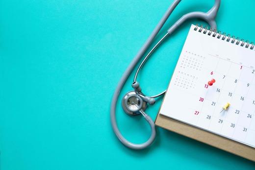 stethoscope-and-calendar