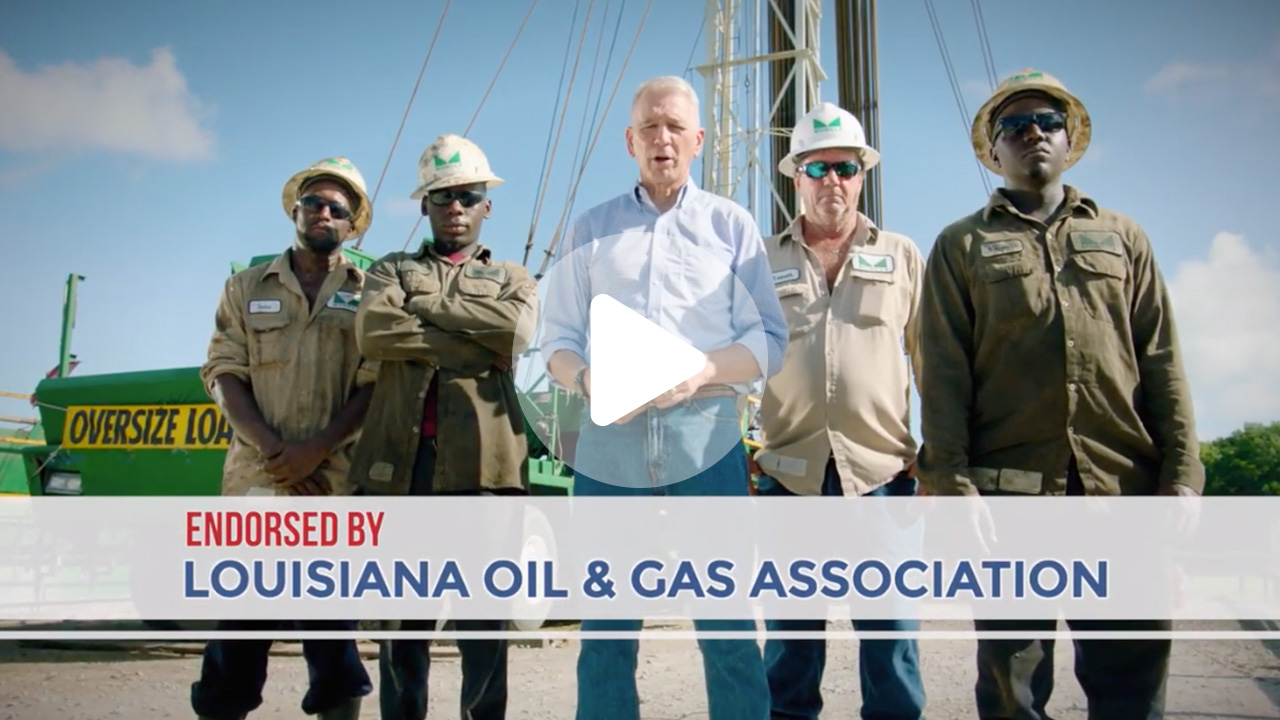 Ralph Abraham Endorsed by Louisiana Oil and Gas