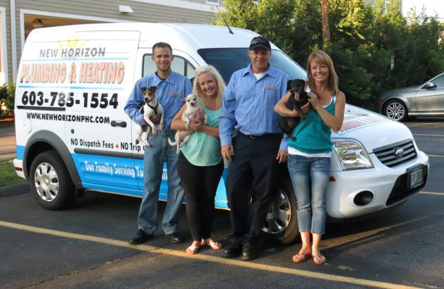 new horizon plumbing and heating family owned team in hooksett nh