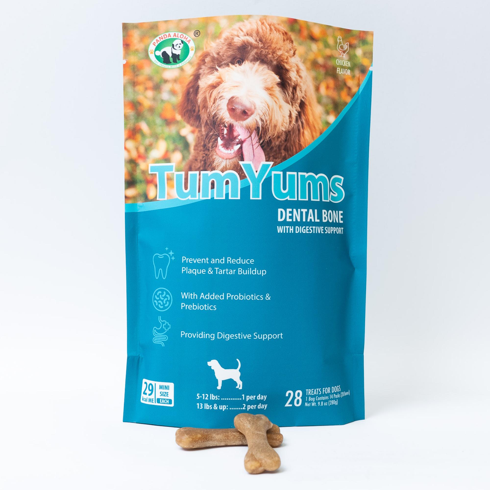 Tum Yums Dental Bone With Digestive Support