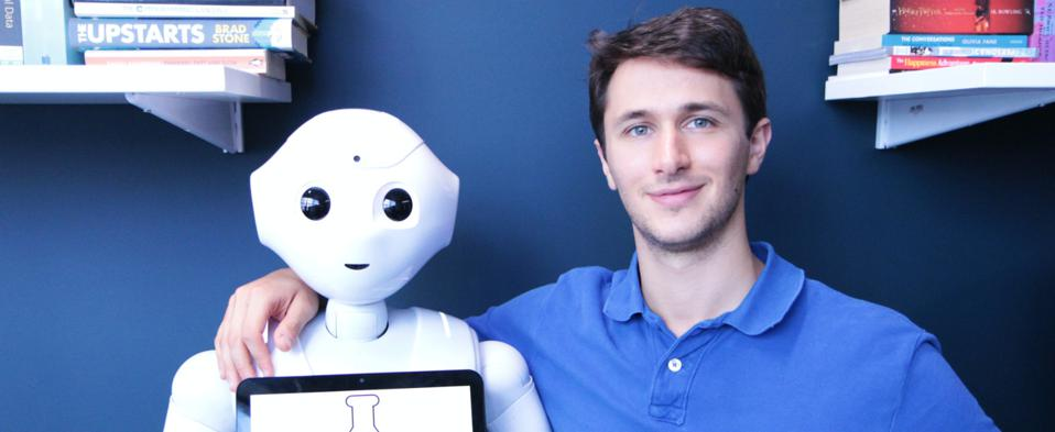 Pepper the automated receptionist, Brainlabs