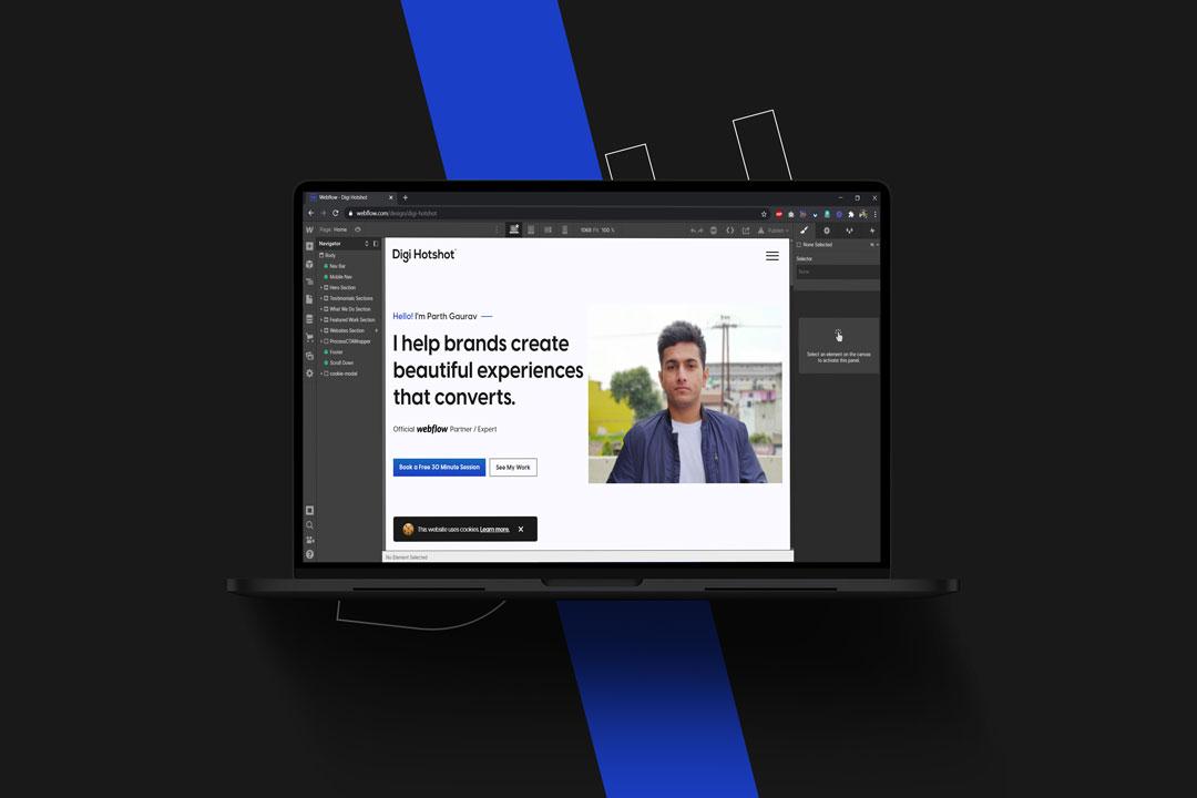 Webflow Development | Official Webflow Expert | Parth Gaurav - Digi Hotshot
