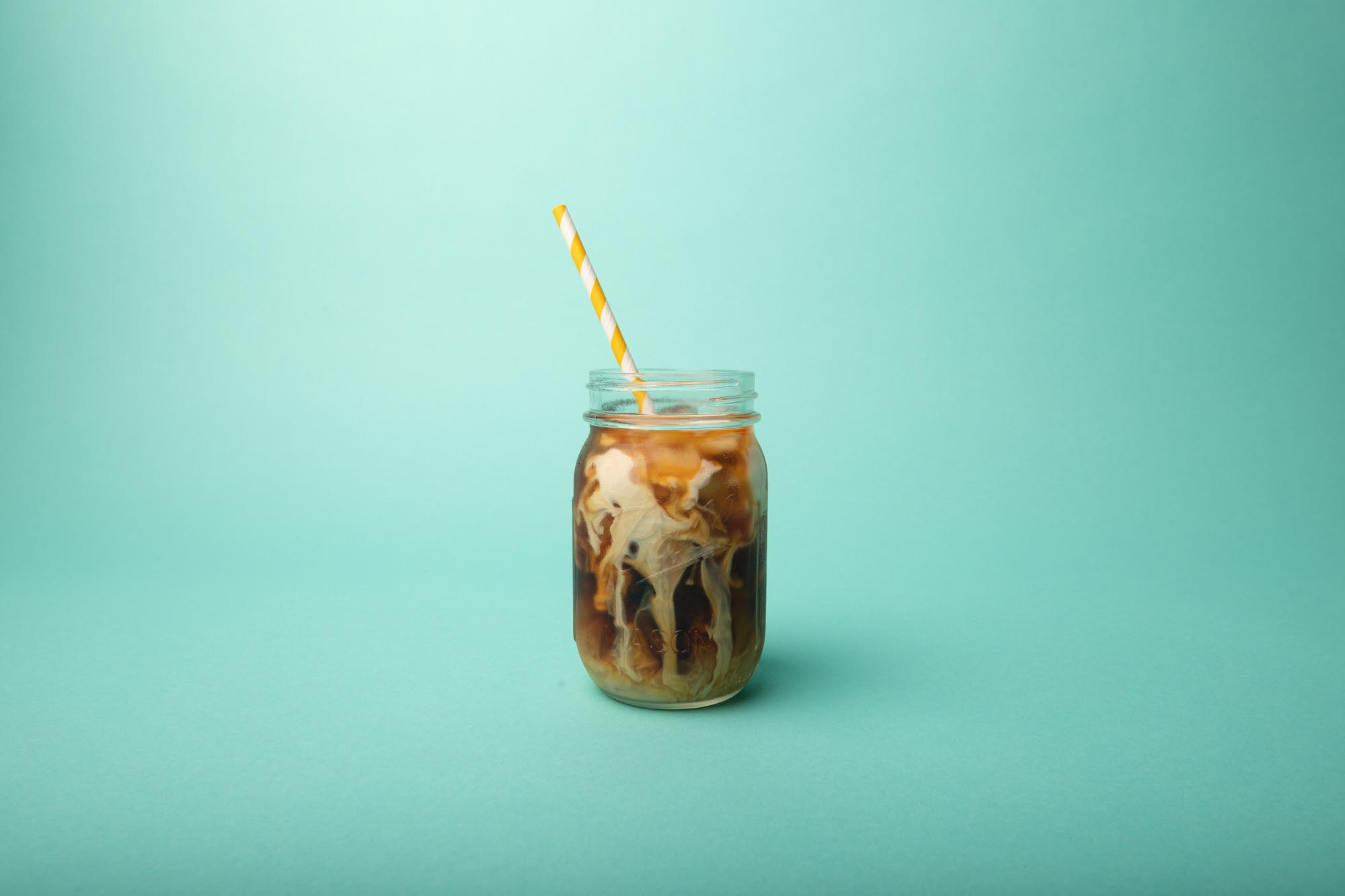 little pecks iced coffee