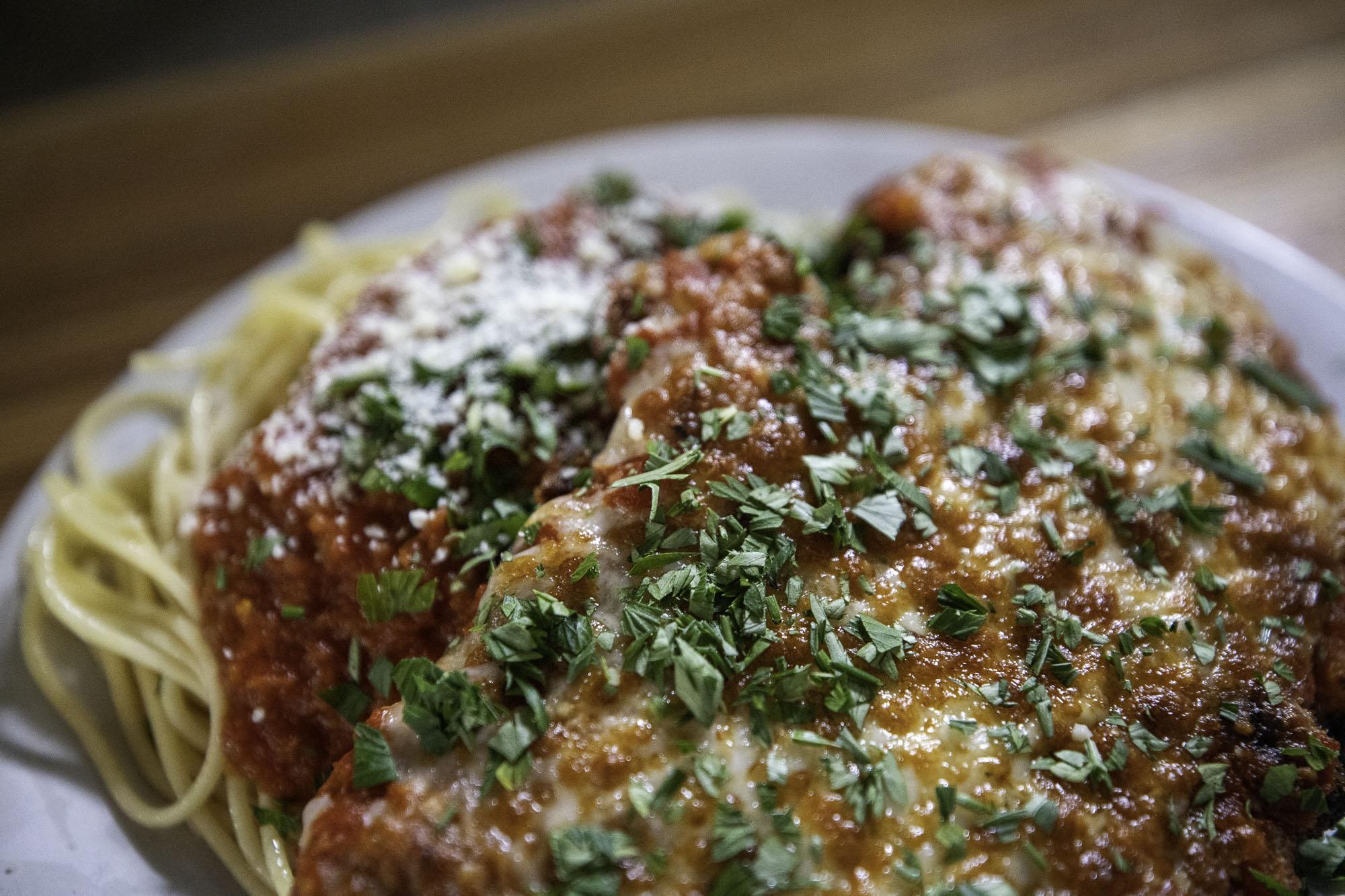 donnas italian chicken parm