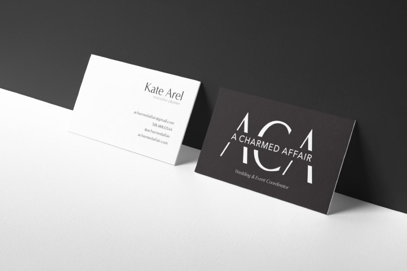 A Charmed Affair Business Cards