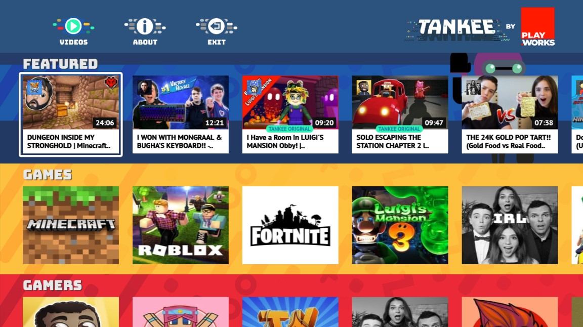 PlayWorks and Tankee Partner to Launch on Comcast's Xfinity X1