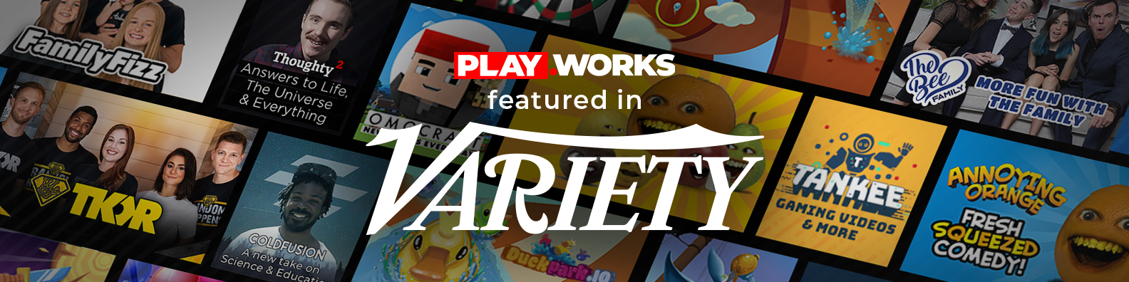 Variety.com - How PlayWorks, a Connected TV Platform for YouTube Content, Helps Creators Earn During COVID-19