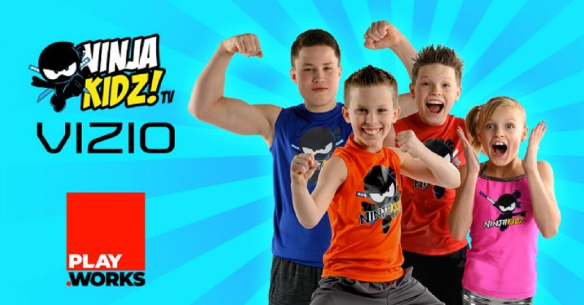 PlayWorks Digital Limited is thrilled to launch the Ninja Kidz TV SmartCast™ App on VIZIO!