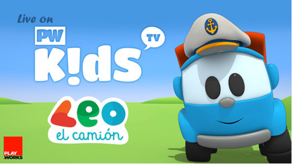 TV Para Niños Signs to Play.Works for Distribution