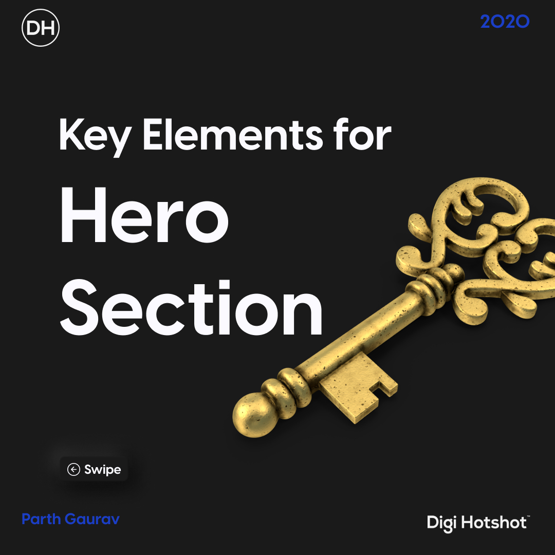 Key elements for hero section