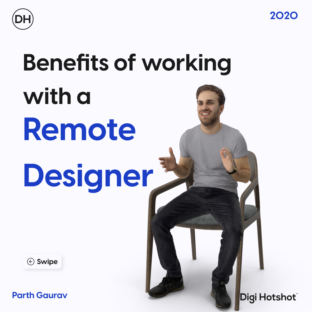 Benefits of working with a remote designer