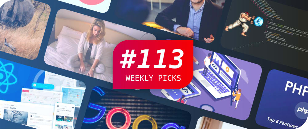 ⚛� JavaScript Interview Questions, React, CSS, and More — Weekly Picks #113
