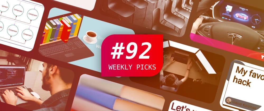 Weekly Picks #92—Development Posts