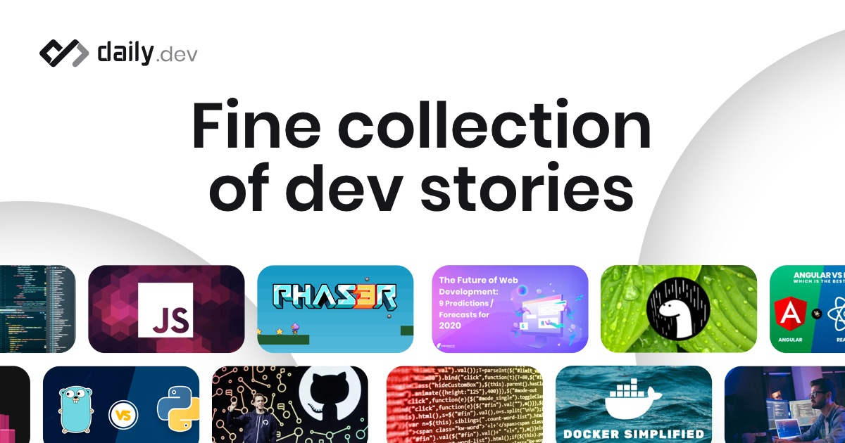 Fine collection of dev stories