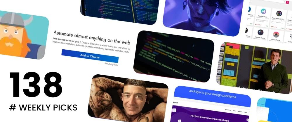 🏆 Best of Web Development - Weekly Picks #138