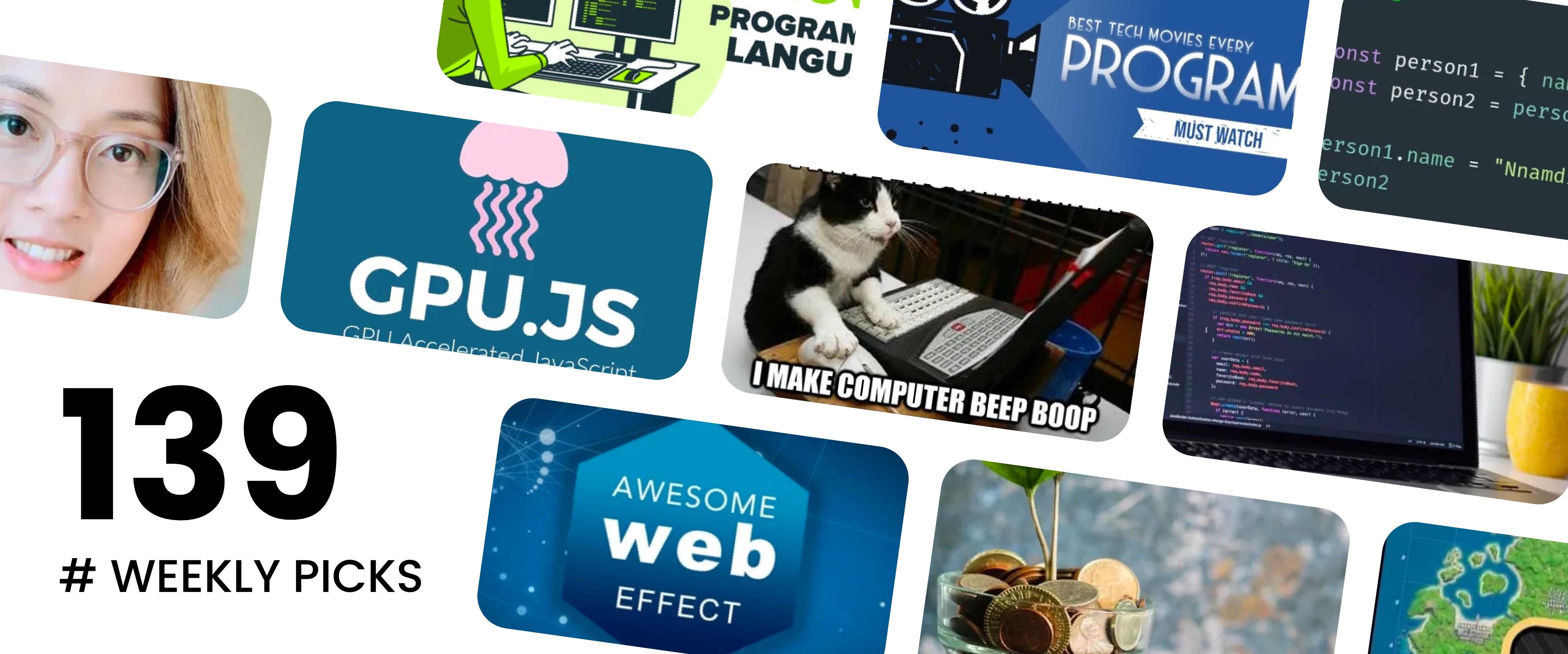 🏆 Best of Web Development - Weekly Picks #139