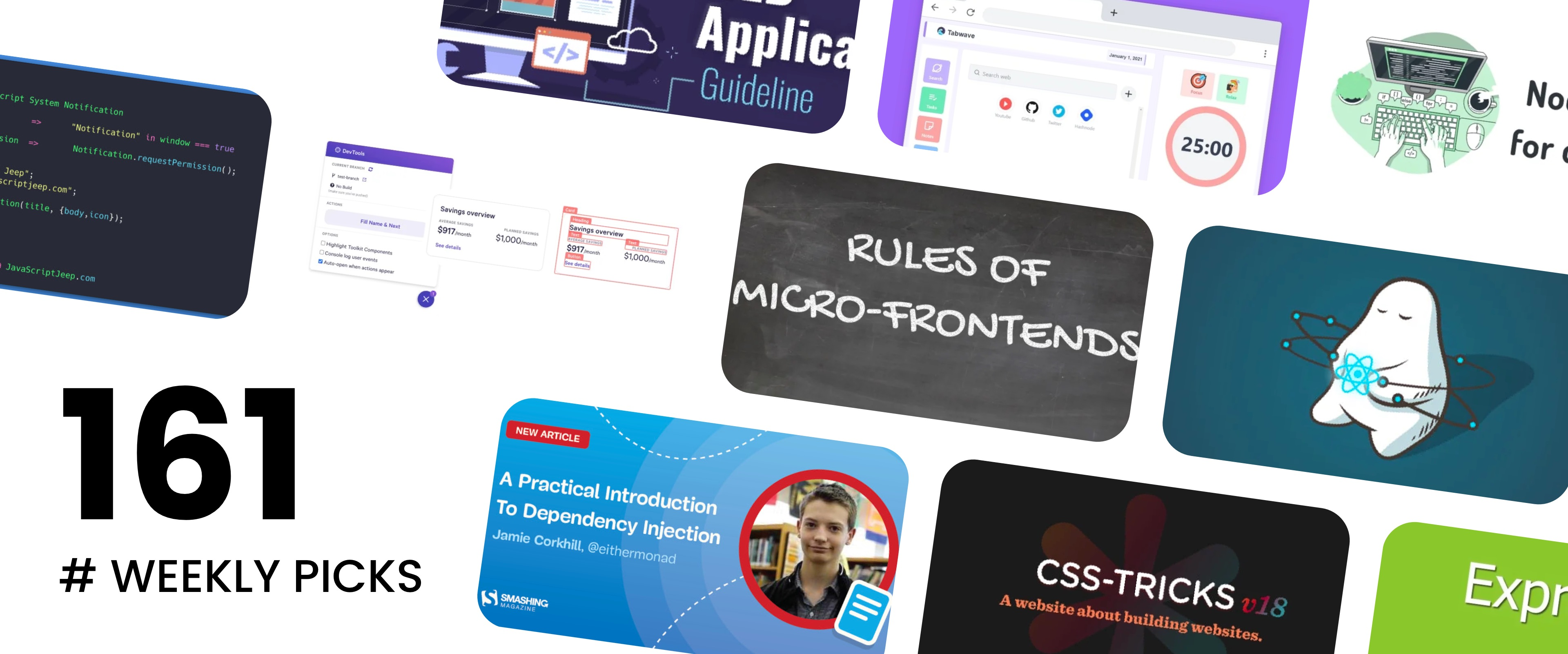 🔥 What's Hot in Web Development? — Weekly Picks #161