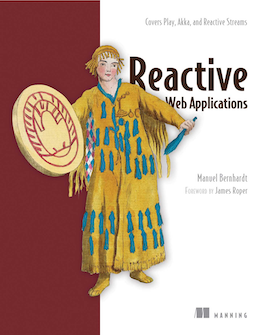 Reactive Web Applications - book cover