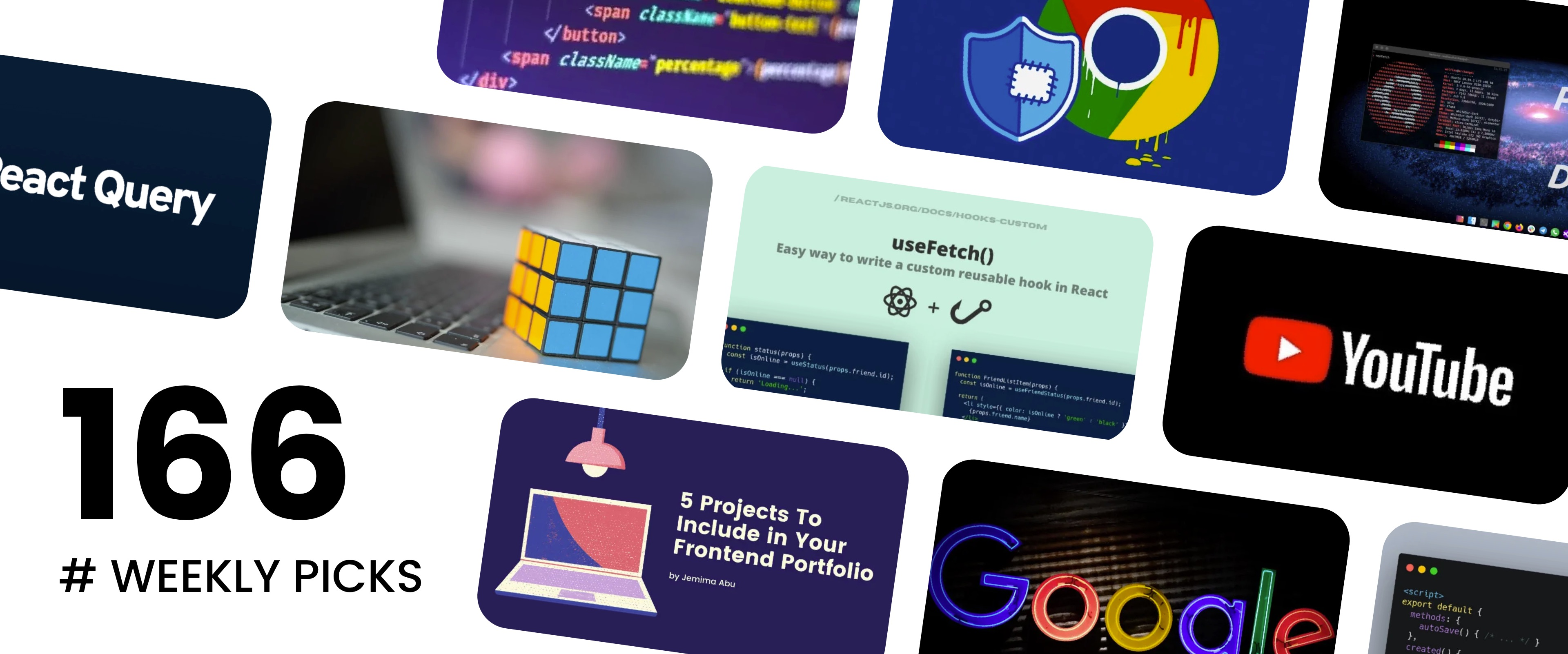 🔥 What's Hot in Web Development? — Weekly Picks #166